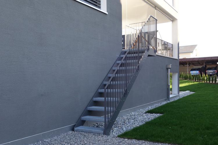 treppen oz metallbau ag. Black Bedroom Furniture Sets. Home Design Ideas